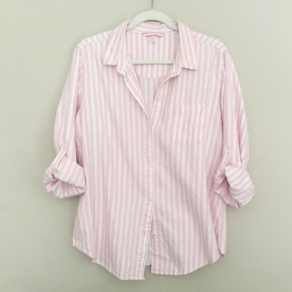 3c6a44060964e Victoria's Secret Sleep Shirt Pink EUC Nightshirt